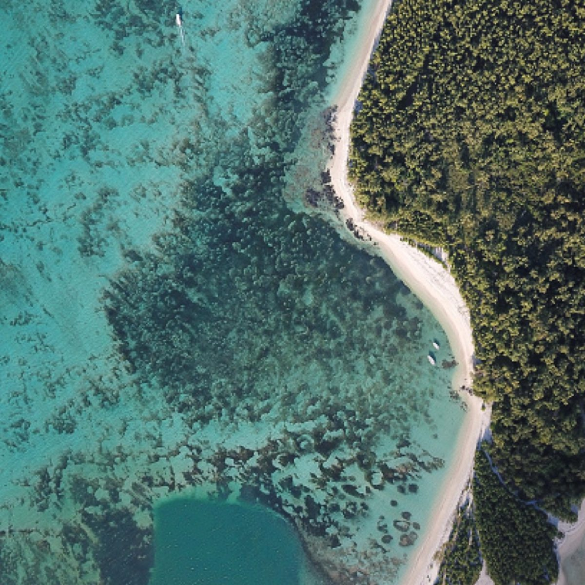 Drone pictures over Mauritius